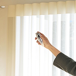 Motorized Curtain Rods. Decorative And Functional Hardware